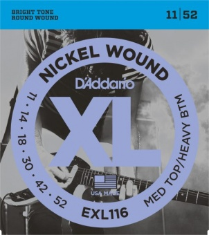 D'Addario XL EXL116 011-052 Nickel Wound