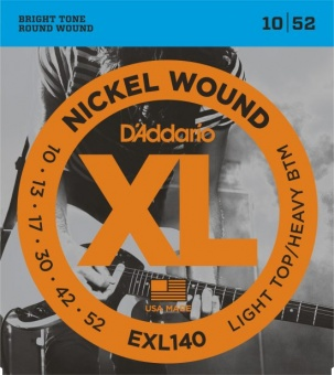 D'Addario XL EXL140 010-052 Nickel Wound