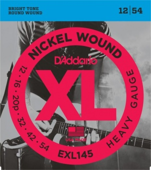 D'Addario XL EXL145 012-054 Nickel Wound