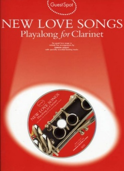 New Love Songs Playalong for Clarinet