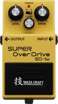 Effektpedal BOSS Super Overdrive SD-1W