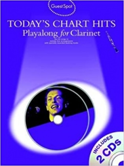 Today's Chart Hits Playalong for Clarinet