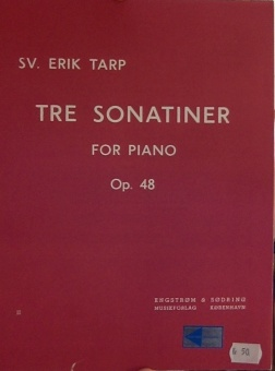 Tre Sonatiner For Piano Op. 48