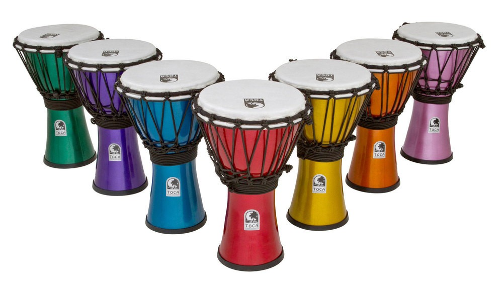 """Djembe 7"""" Toca Freestyle Colorsound"""