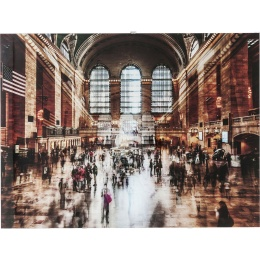 Grand Central Station 90x120cm