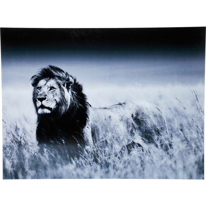Lion King glastavla 70x90cm