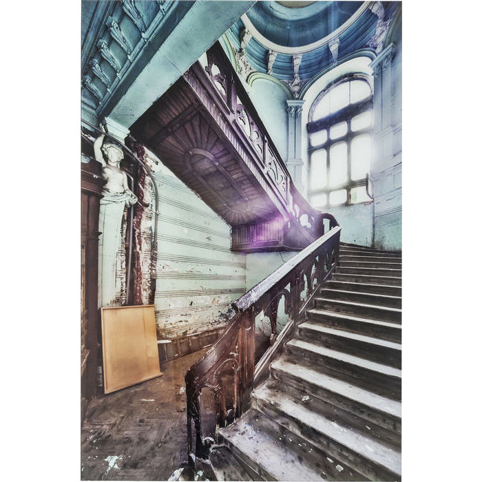 Old Staircase 90x60 cm