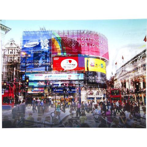 Piccadilly circus tavla 120x160 cm
