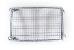 Nätgrindsdörr 128x80 cm