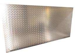 Aluminiumdurk 1272X2572 mm