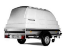 Plasthuv FS-Serie 250x138cm Höjd 100 cm