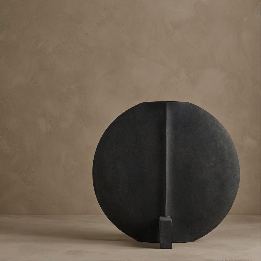 101 Copenhagen Guggenheim Vase Big Dark Grey