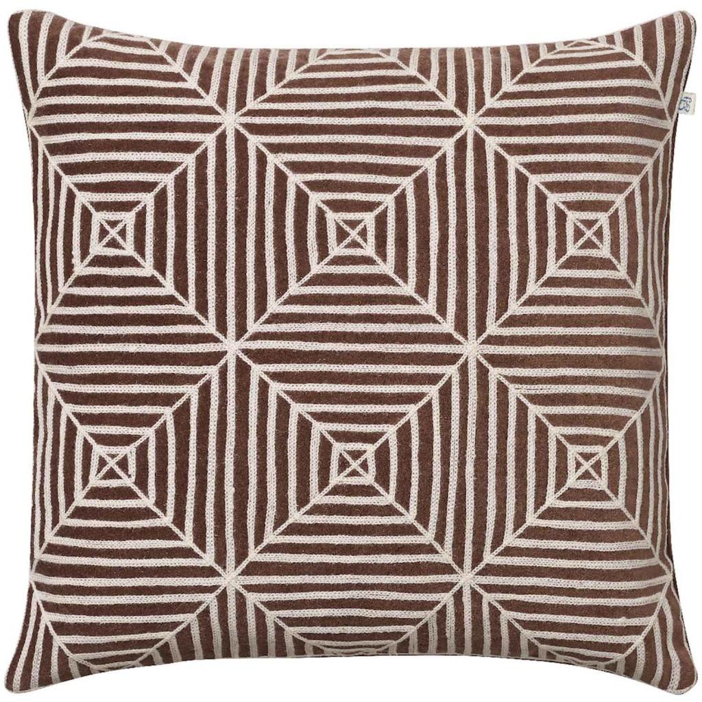 Chhatwal & Jonsson Kudde Kulgam Embroidered Velvet Brown