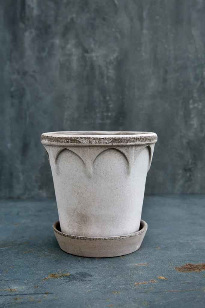 Bergs Potter Kruka Elizabeth Grå 16 cm