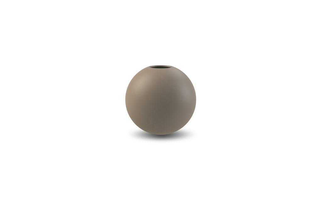 Cooee Ball Vase Mud