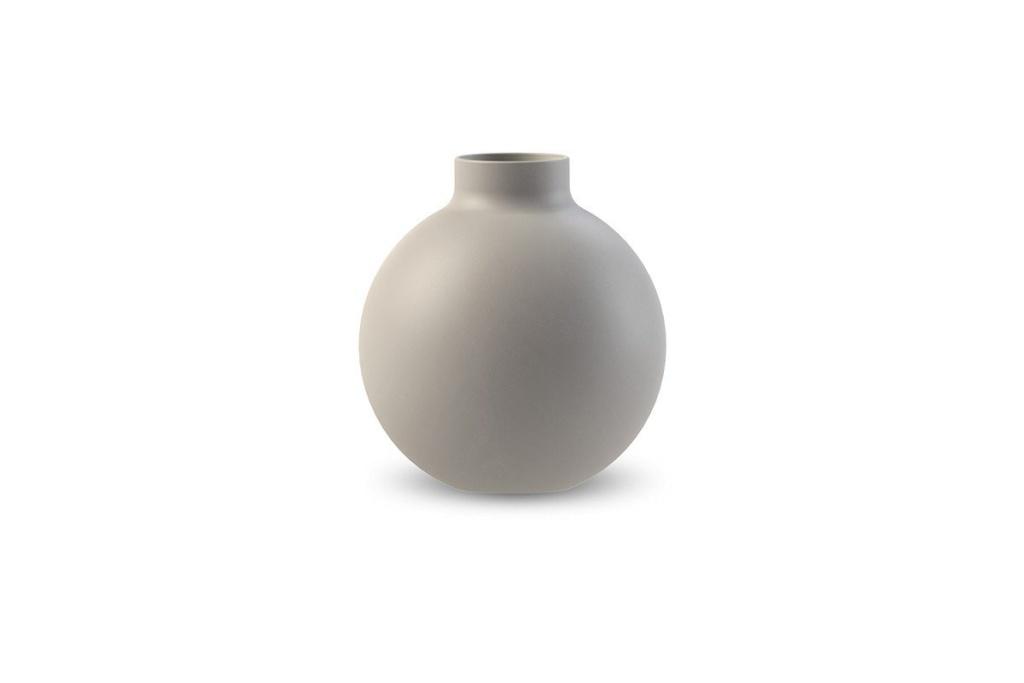 Cooee Collar Vase Light Grey 12 cm