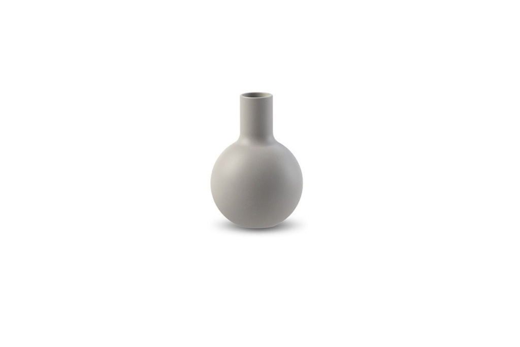 Cooee Collar Vase Light Grey 7 cm