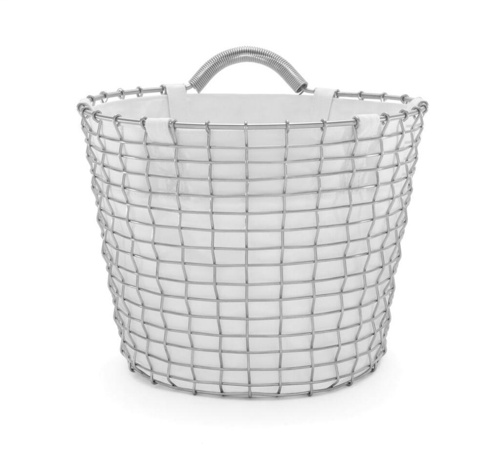 Korbo Basket Liner Vit
