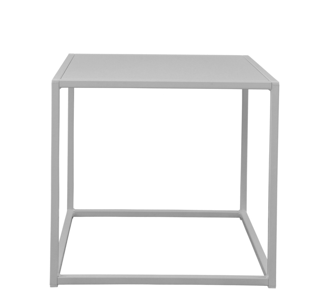 Design of Outdoor Square Table Grey Small
