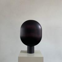 101 Copenhagen Clam Table Lamp Burned Black