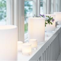 Skogsberg & Smart Hurricane Lamp White