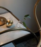 Skultuna Pomme Vas och Ljushållare Mässing