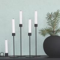Cooee Candlestick Black 29 cm