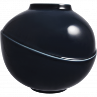 AEO Vase Big Bubble Evening Blue