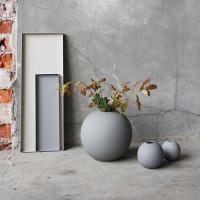 Cooee Ball Vase Grey