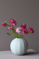 Cooee Edge Ball Vase Light Grey 15 cm
