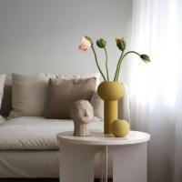 Cooee Pillar Vase Ochre 24 cm