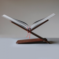 New Mags Bookstand Walnut