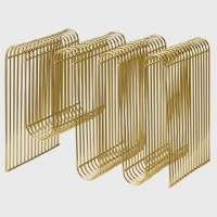 AYTM Curva Magazine Holder Brass