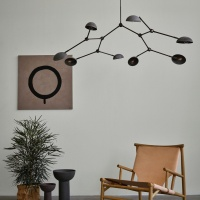 101 Copenhagen Drop Chandelier Lamp Oxidized