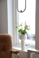 Cooee Pillar Vase White 32 cm