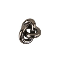 Cooee Knot Table Small Dark Silver