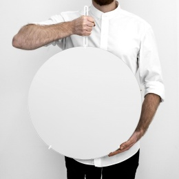 Moebe Wall Mirror White
