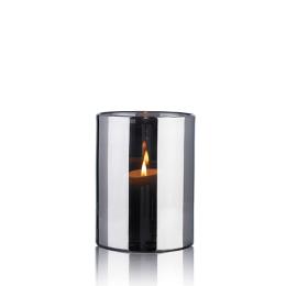 Skogsberg & Smart Hurricane Lamp Silver Medium