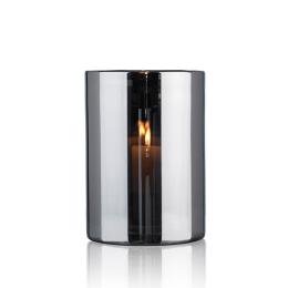 Skogsberg & Smart Hurricane Lamp Silver Large