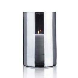 Skogsberg & Smart Hurricane Lamp Silver Extra Large