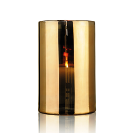 Skogsberg & Smart Hurricane Lamp Gold Extra Large