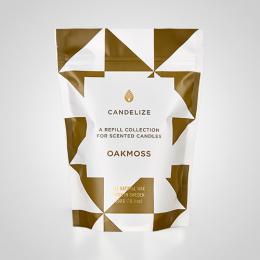 Candelize Refill Doftljus Oakmoss