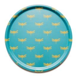 Flyboyant Bricka Dragonfly Yellow Cadet Blue