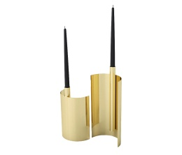 AYTM Ljusstake Asto 1 Gold 30 cm