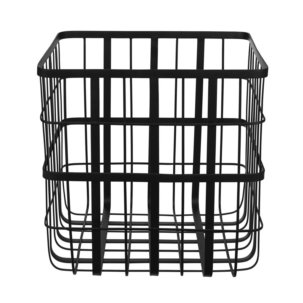 Louise Roe Metal Frame Basket Large