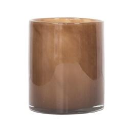 Tell Me More Lyric Candleholder Medium Brown