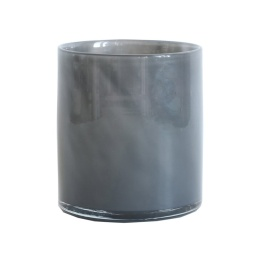 Tell Me More Lyric Candleholder Medium Dark Grey