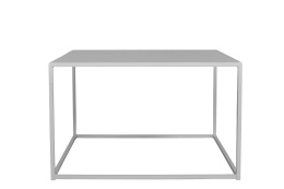 Design of Outdoor Square Table Grey Medium