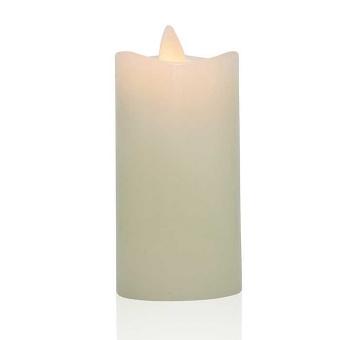 Luminara blockljus ivory 5x10 cm