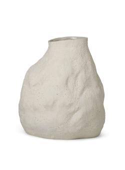 Ferm Living Vulca Vas Large Off White Stone